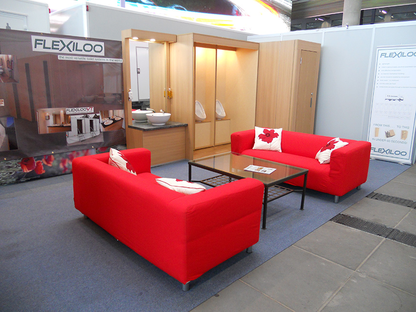 Flexiloo system at show room