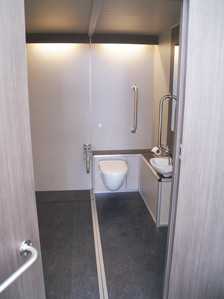 Flexiloo Accessible Toilet