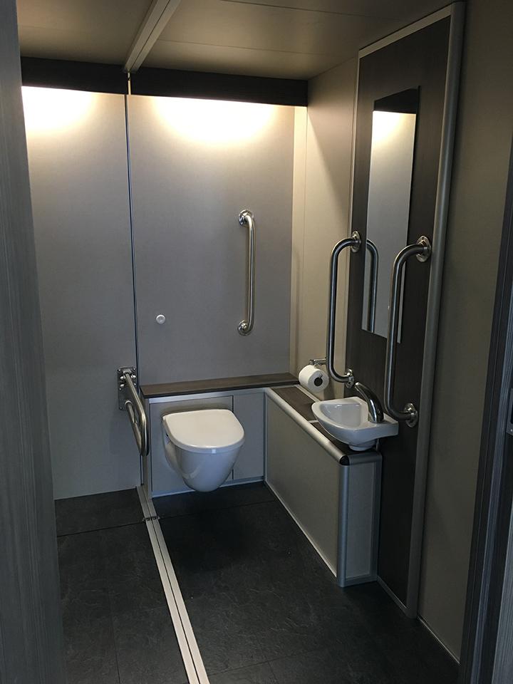 Accessible toilet - Zoos Loos